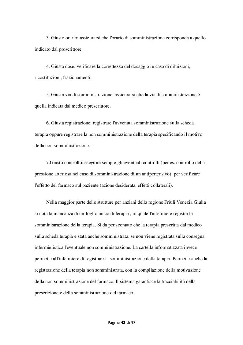 Estratto dalla tesi: La cartella clinico-assistenziale informatizzata: strumento per migliorare il management sanitario nelle Residenze per Anziani