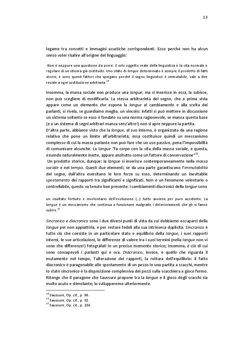 Estratto dalla tesi: La Tragedia del Linguaggio: messa in scena di un'antropogenesi