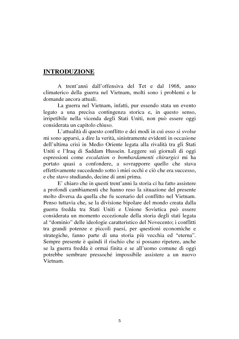 Anteprima della tesi: L'America in Vietnam attraverso la grande stampa italiana, 1967-1968, Pagina 1