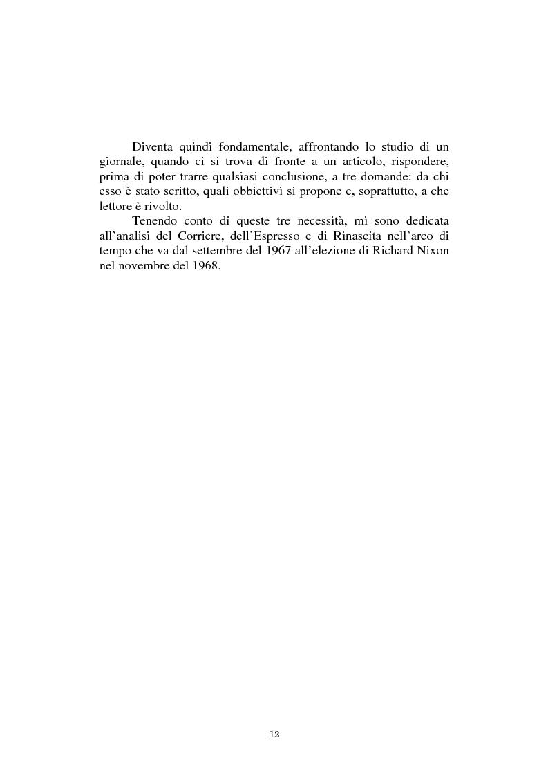 Anteprima della tesi: L'America in Vietnam attraverso la grande stampa italiana, 1967-1968, Pagina 8