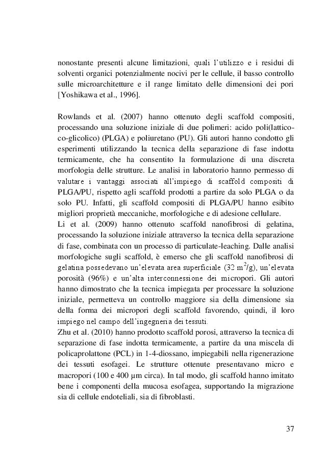 Estratto dalla tesi: Progettazione di un impianto di elettrospinning assistito da fluidi supercritici