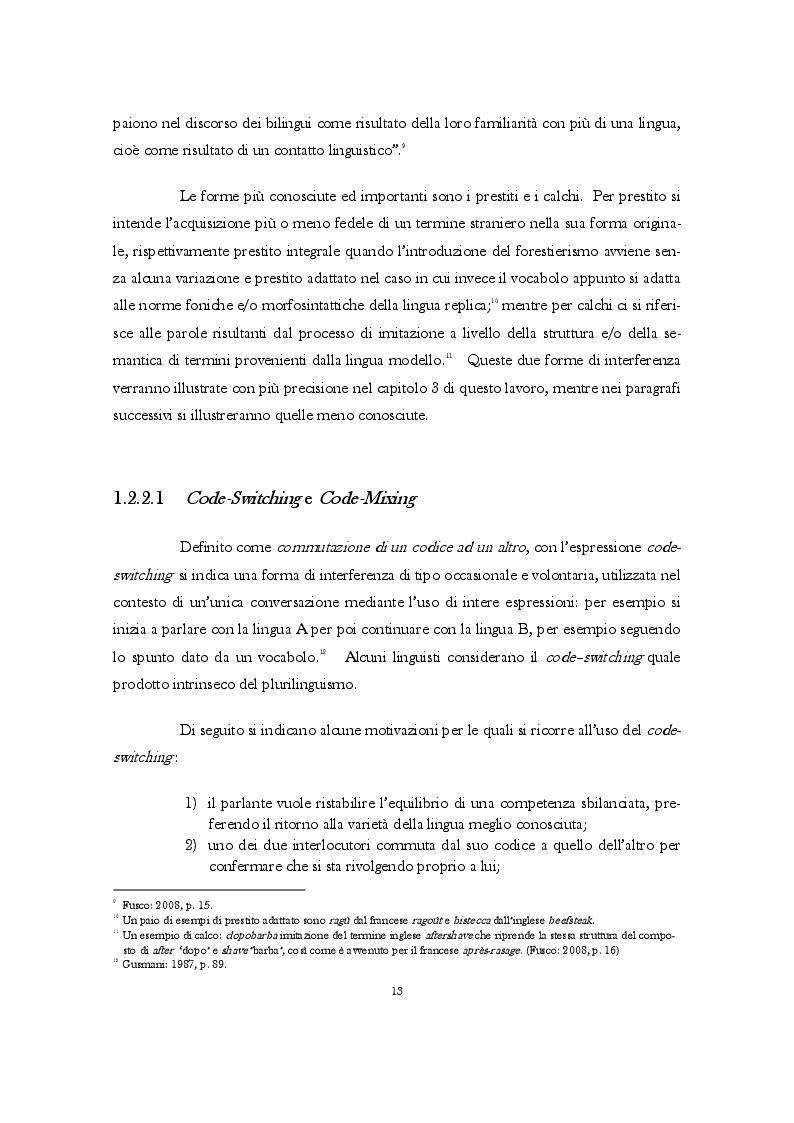 Estratto dalla tesi: Gli anglicismi nel lessico italiano della gastronomia