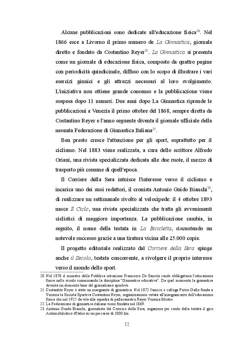 Estratto dalla tesi: Dalla Gazzetta dello Sport a Tuttomercatoweb - L'evoluzione del linguaggio giornalistico sportivo
