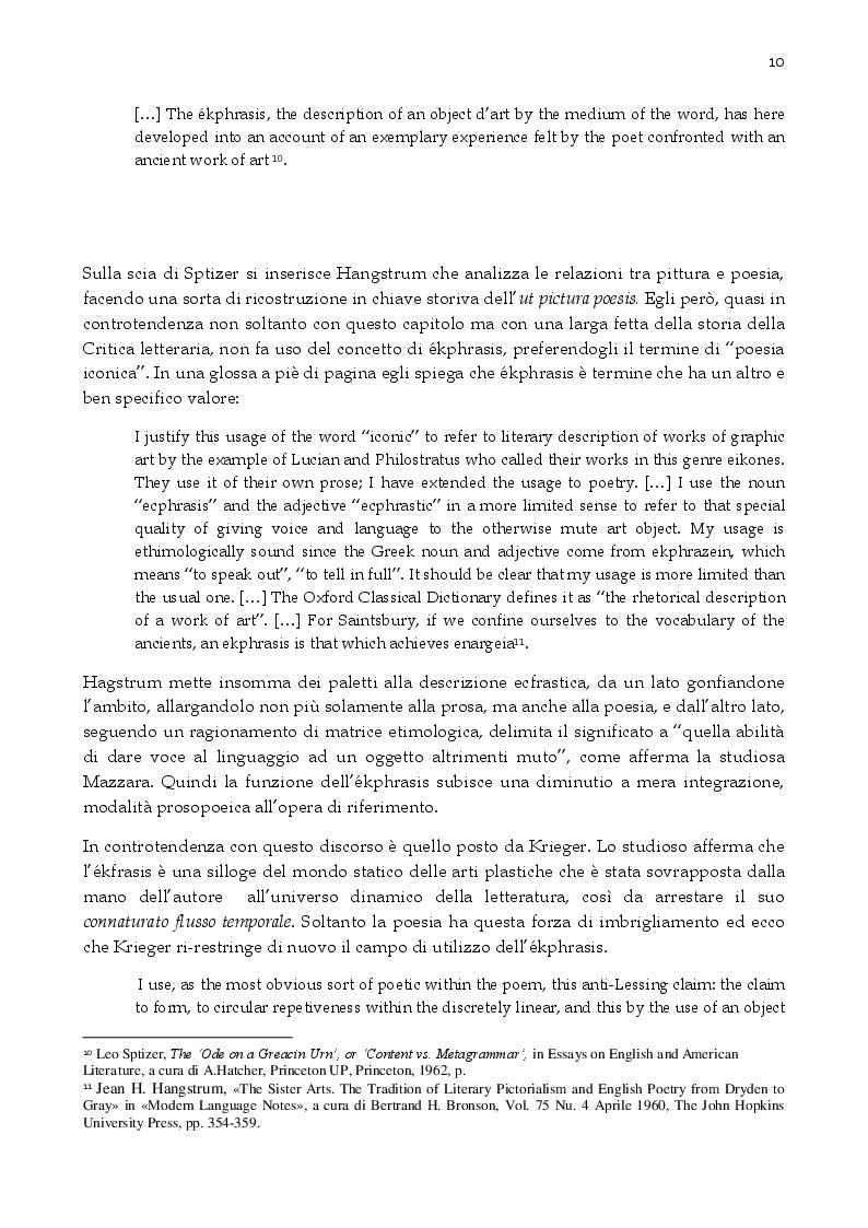 Estratto dalla tesi: Momenti di ekphrasis nella critica giornalistica delle arti in Melania Mazzucco e Roberto Longhi