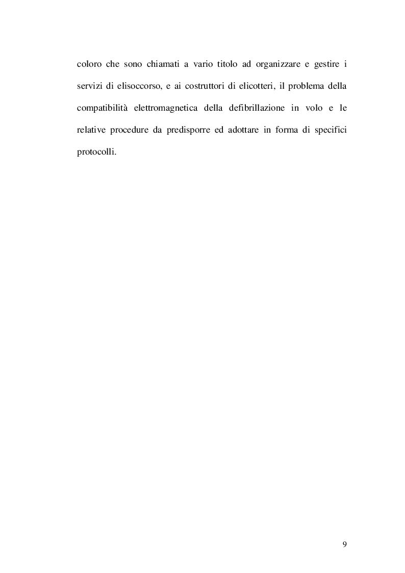 Anteprima della tesi: Gestione delle aritmie cardiache e defibrillazione in volo, Pagina 3