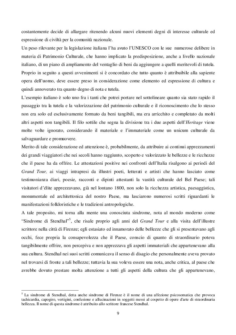Estratto dalla tesi: Il ruolo delle Pro Loco nella Promozione Turistica del Patrimonio Culturale Immateriale. Un Focus nel Veneziano.