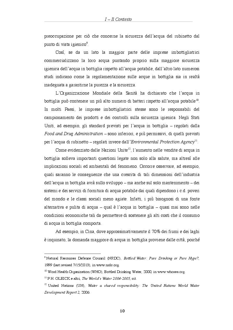 Estratto dalla tesi: Analisi economica del diritto ed assetti proprietari: il caso delle acque minerali