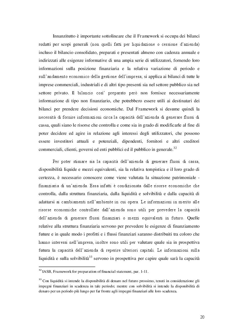 Estratto dalla tesi: Analisi delle società di calcio quotate a livello europeo e valutazione dell'applicazione dei principi IAS/IFRS