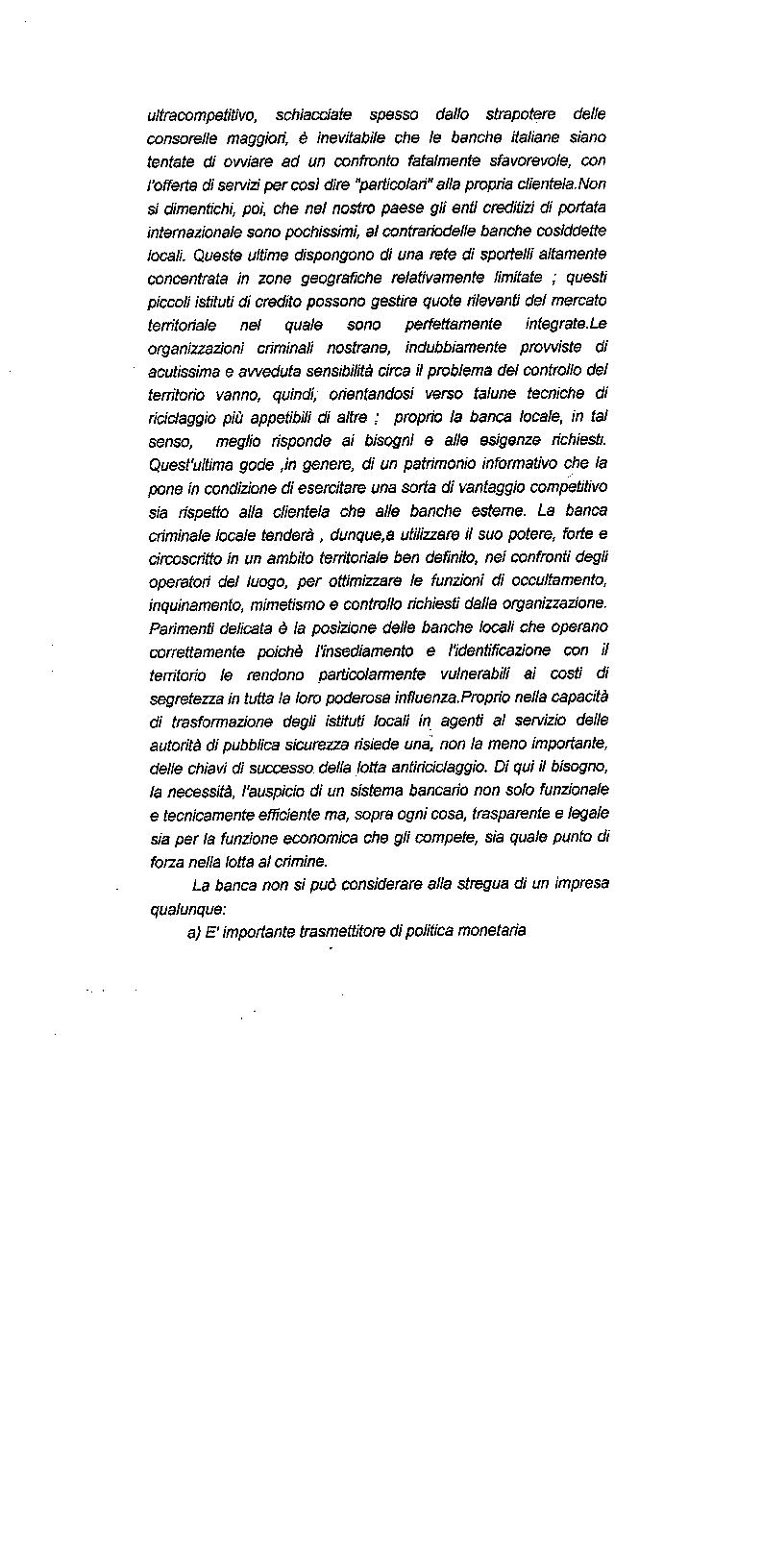 Anteprima della tesi: Il riciclaggio di proventi illeciti nel sistema finanziario contemporaneo, Pagina 5