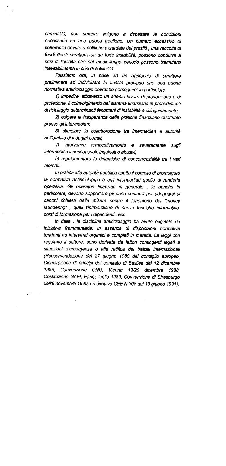 Anteprima della tesi: Il riciclaggio di proventi illeciti nel sistema finanziario contemporaneo, Pagina 7