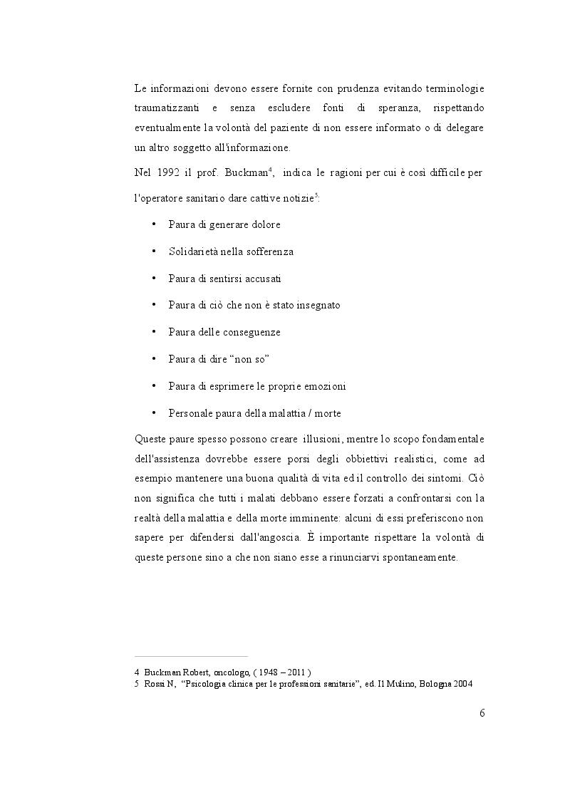 Anteprima della tesi: Cure di fine vita: Migliorare la qualità dell'assistenza e il benessere dell'infermiere che accompagna, Pagina 7