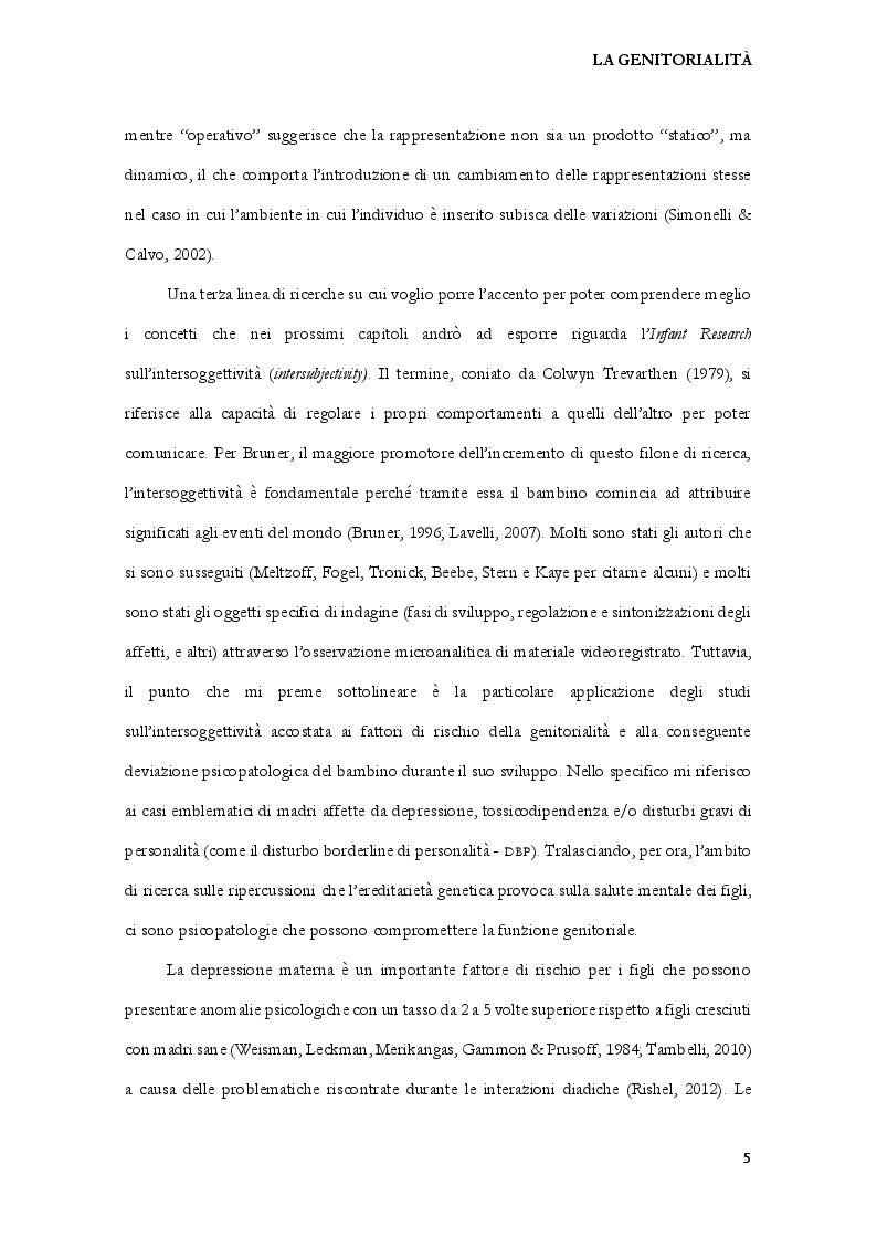Estratto dalla tesi: Omo - Vs Etero - Cogenitorialità: attaccamento, personalità e stigma sessuale in coppie italiane