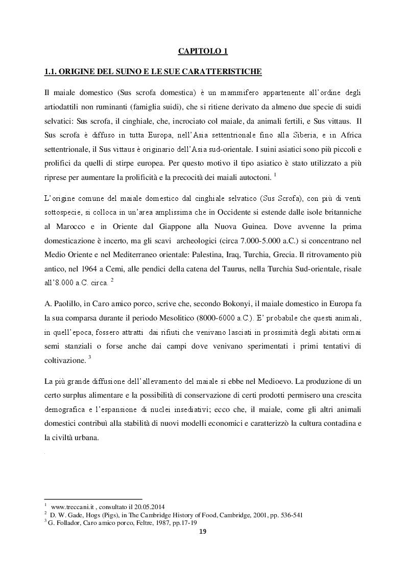 Estratto dalla tesi: Il Maiale tra storia, cultura ed identità. Lo Speck in Alto Adige.