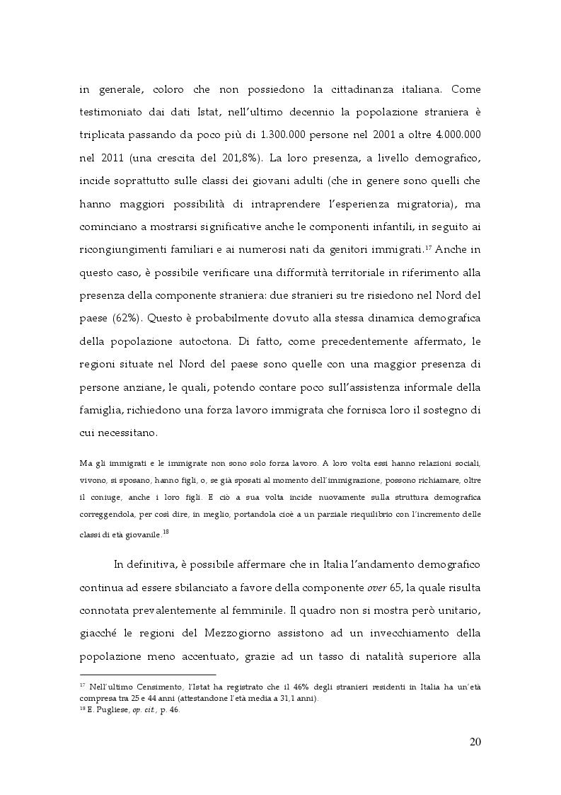 Estratto dalla tesi: Il bisogno di socializzazione degli anziani. L'osservazione della Comunità di Sant'Egidio a Napoli