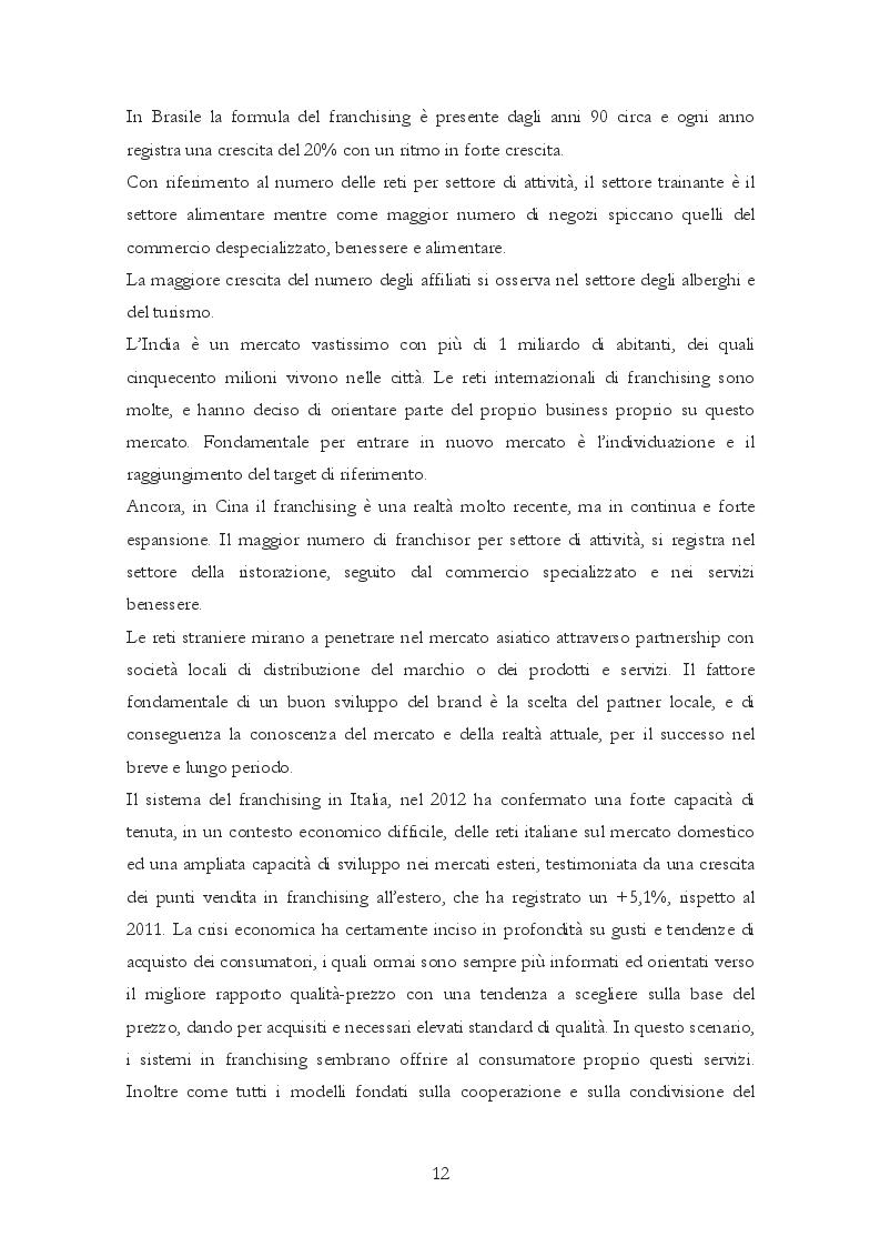 Estratto dalla tesi: Il Franchising nel business alberghiero: il caso Ibis Styles Catania Acireale