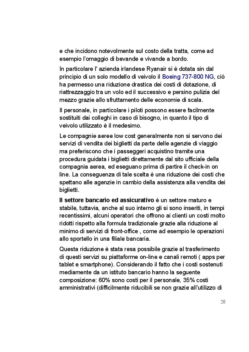 Estratto dalla tesi: L'Italia riparte dal low cost. Il caso aziendale: Pittarello Calzature