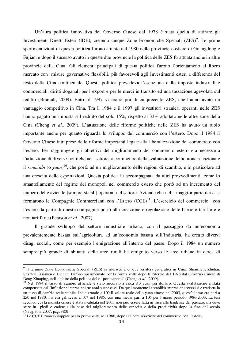Estratto dalla tesi: Disuguaglianza e Polarizzazione Del Reddito Durante la Transizione Economica Nella Repubblica Popolare Cinese.