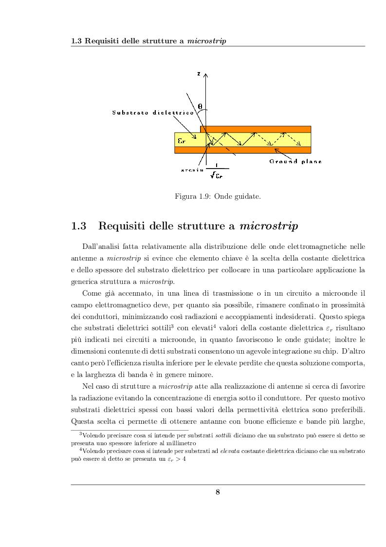 Estratto dalla tesi: Antenne planari a slot per applicazioni UWB con filtro elimina banda