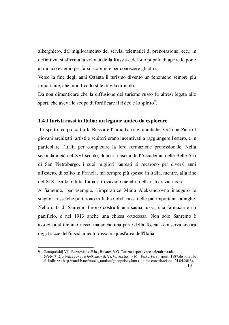 Estratto dalla tesi: La lingua russa del turismo: analisi della rivista «Vojaž»