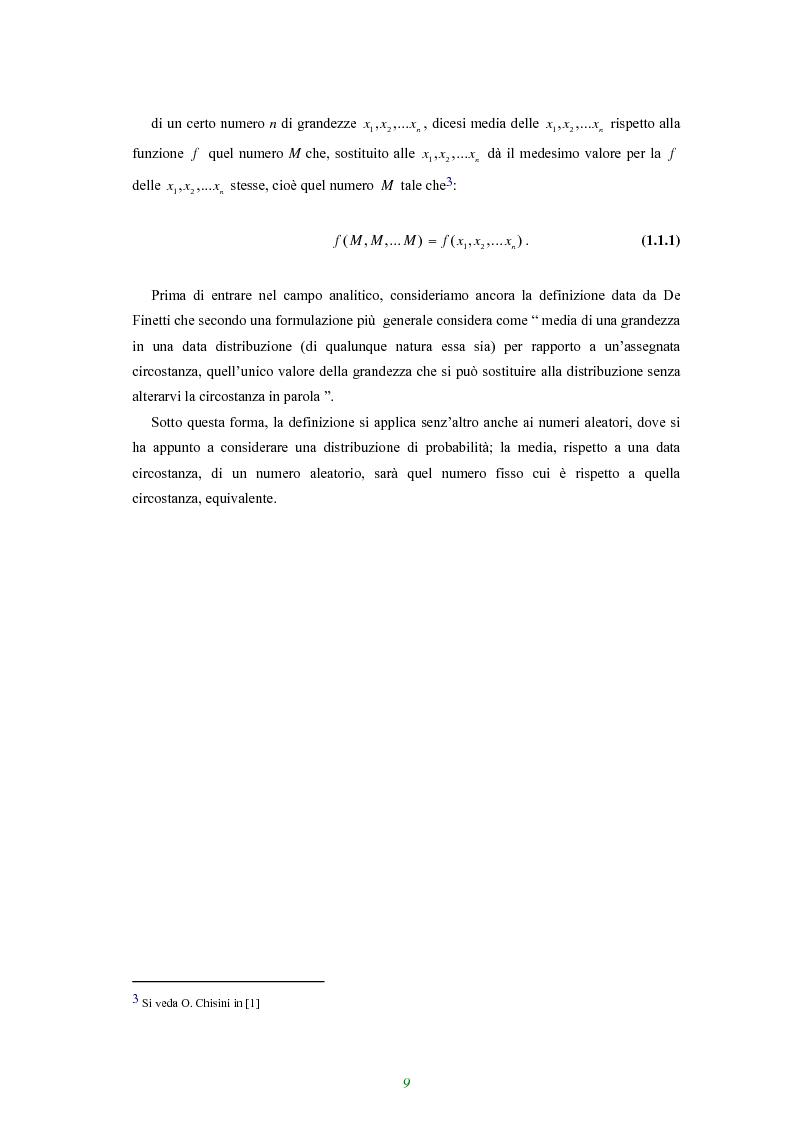 Anteprima della tesi: Applicazione di alcune disuguaglianze all'andamento di funzioni finanziarie e attuariali, Pagina 4