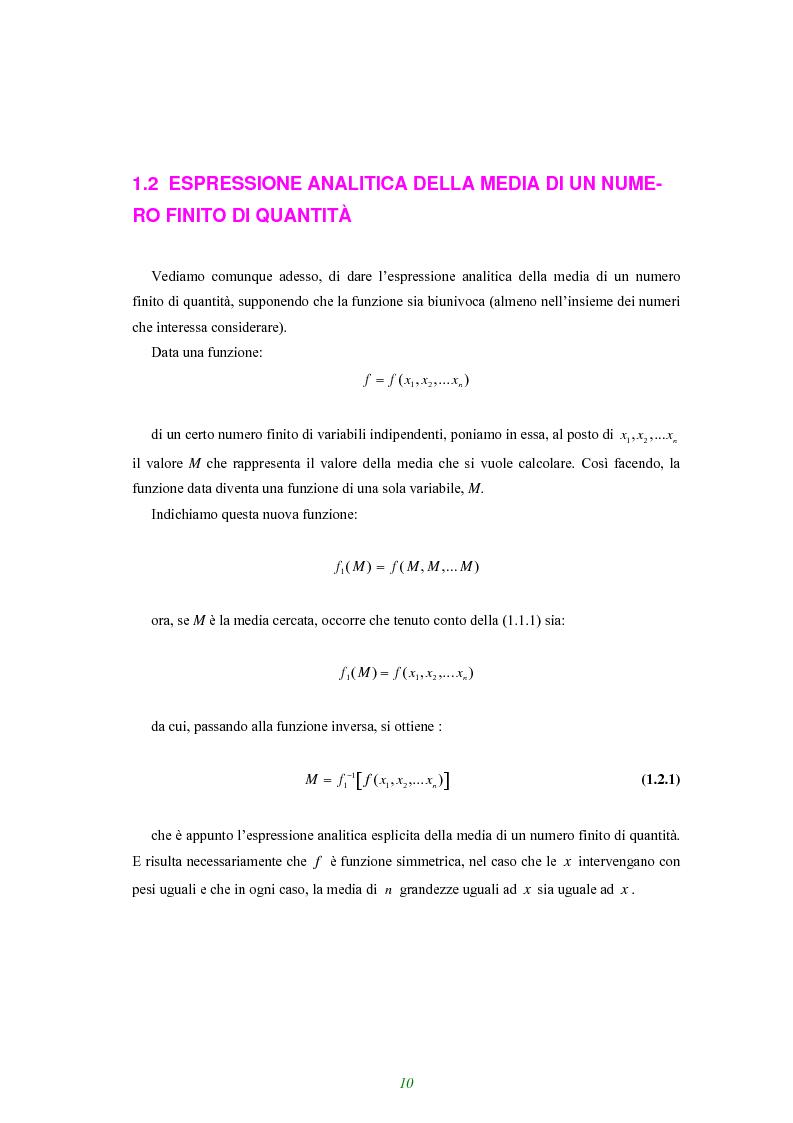 Anteprima della tesi: Applicazione di alcune disuguaglianze all'andamento di funzioni finanziarie e attuariali, Pagina 5