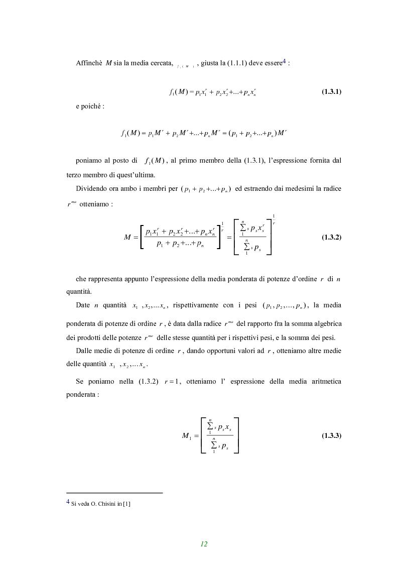 Anteprima della tesi: Applicazione di alcune disuguaglianze all'andamento di funzioni finanziarie e attuariali, Pagina 7