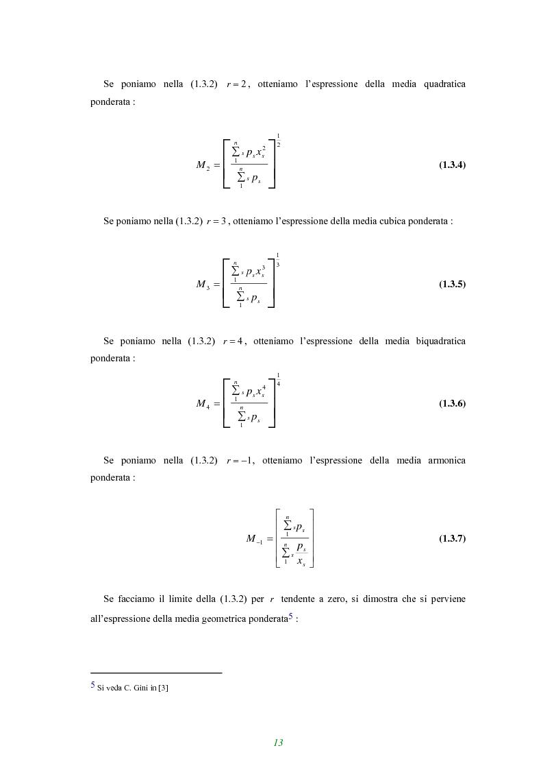 Anteprima della tesi: Applicazione di alcune disuguaglianze all'andamento di funzioni finanziarie e attuariali, Pagina 8