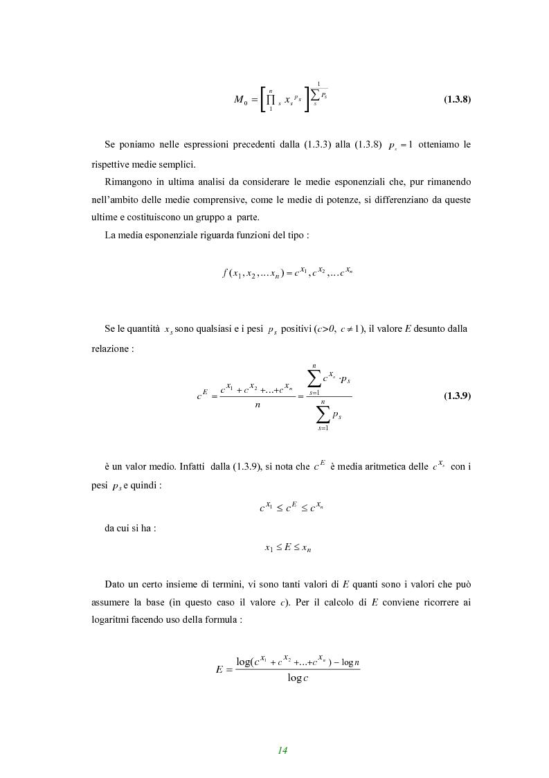 Anteprima della tesi: Applicazione di alcune disuguaglianze all'andamento di funzioni finanziarie e attuariali, Pagina 9
