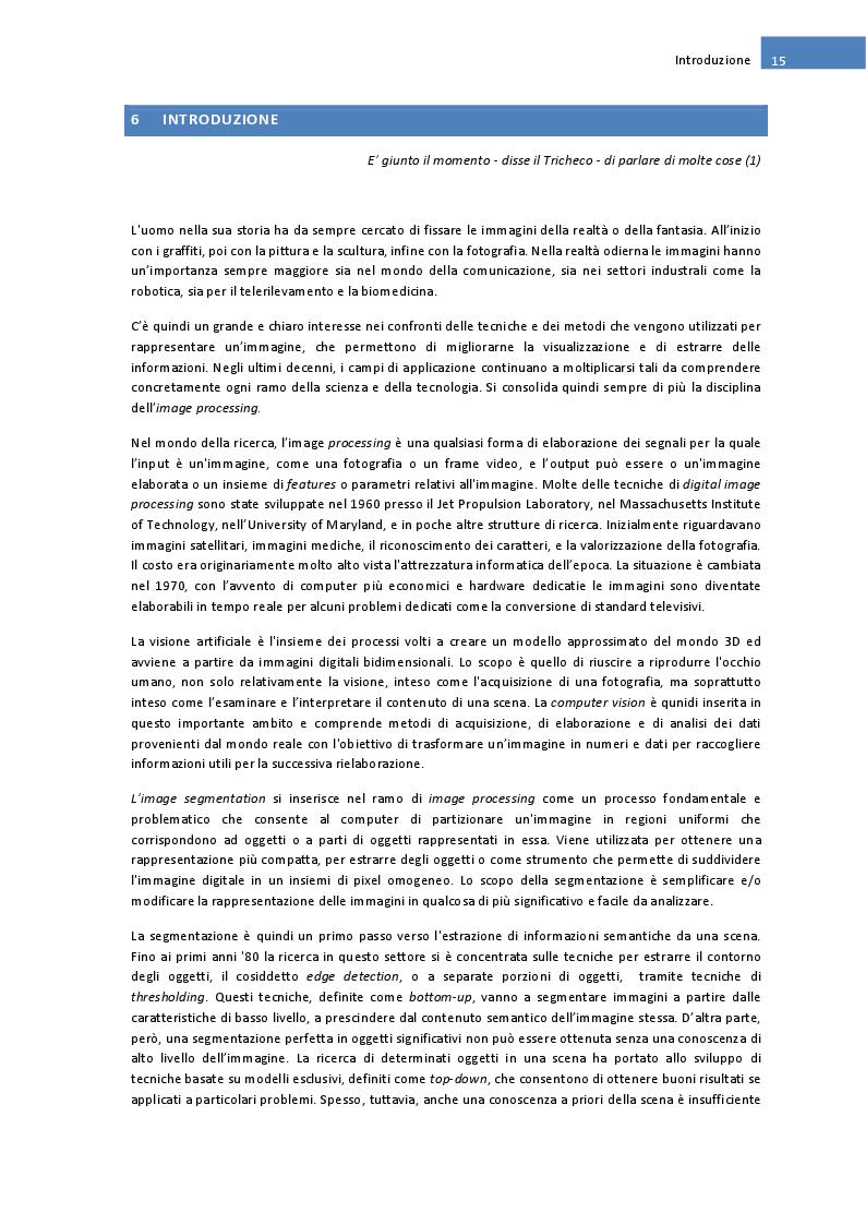 Estratto dalla tesi: Algoritmi e tecniche di Segmentazione delle immagini