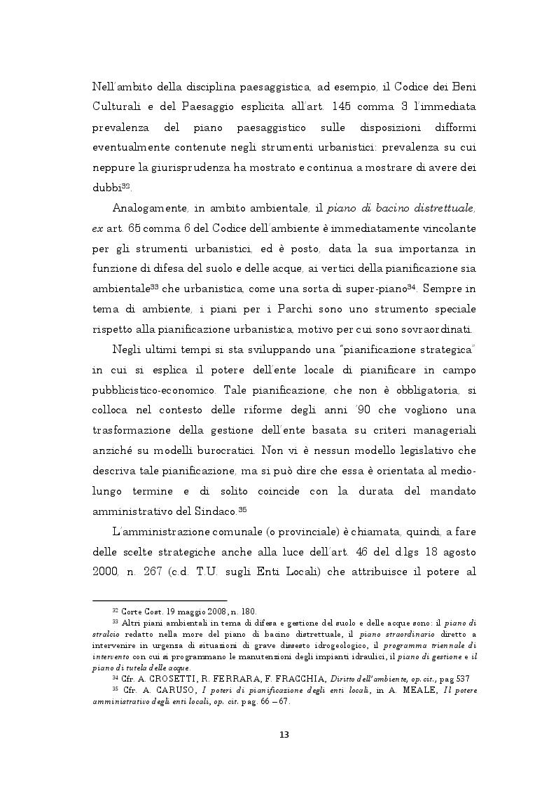 Estratto dalla tesi: La pianificazione generale nel modello polifasico