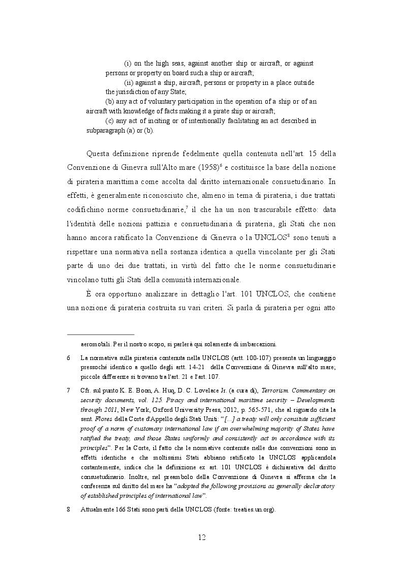 Estratto dalla tesi: Vessel Protection Detachments e contractors nella lotta alla pirateria marittima
