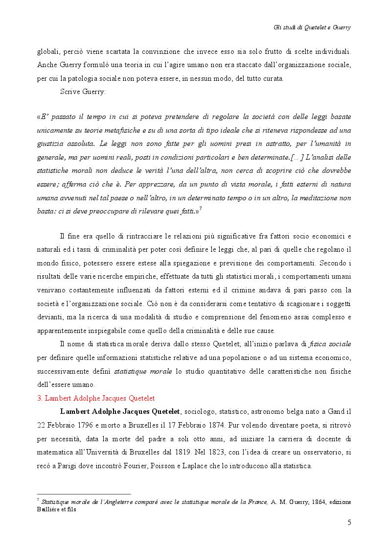 Estratto dalla tesi: Statistiche della criminalità tra metodologie passate e presenti