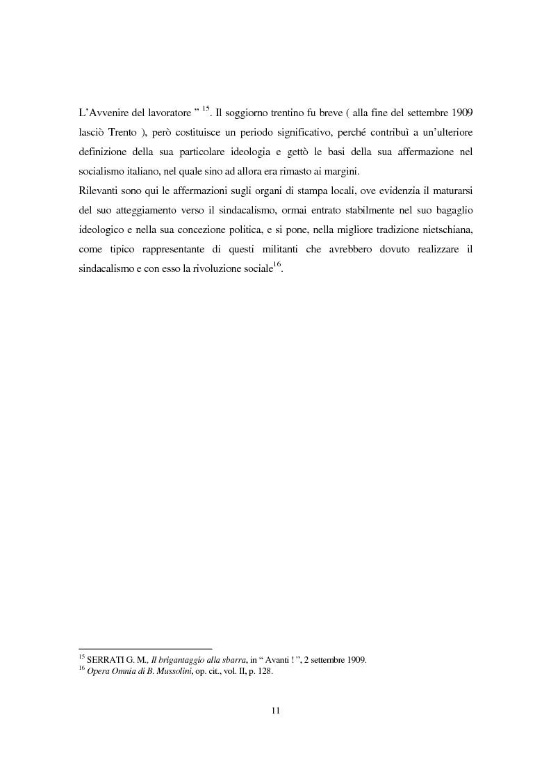 Anteprima della tesi: Benito Mussolini e la politica economica italiana, Pagina 8