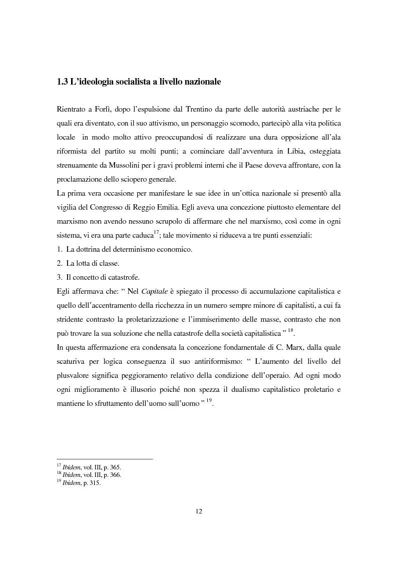 Anteprima della tesi: Benito Mussolini e la politica economica italiana, Pagina 9