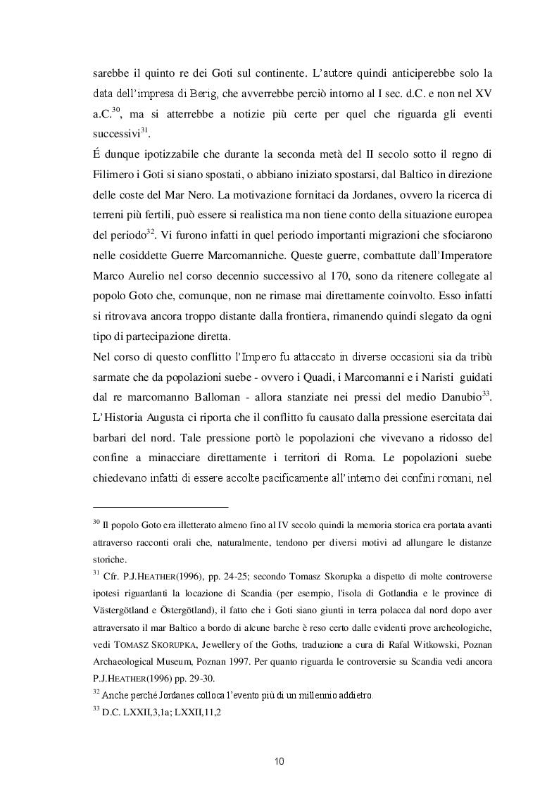 Estratto dalla tesi: Gli Imperatori e i Goti dalla Battaglia di Adrianopoli al Sacco di Roma