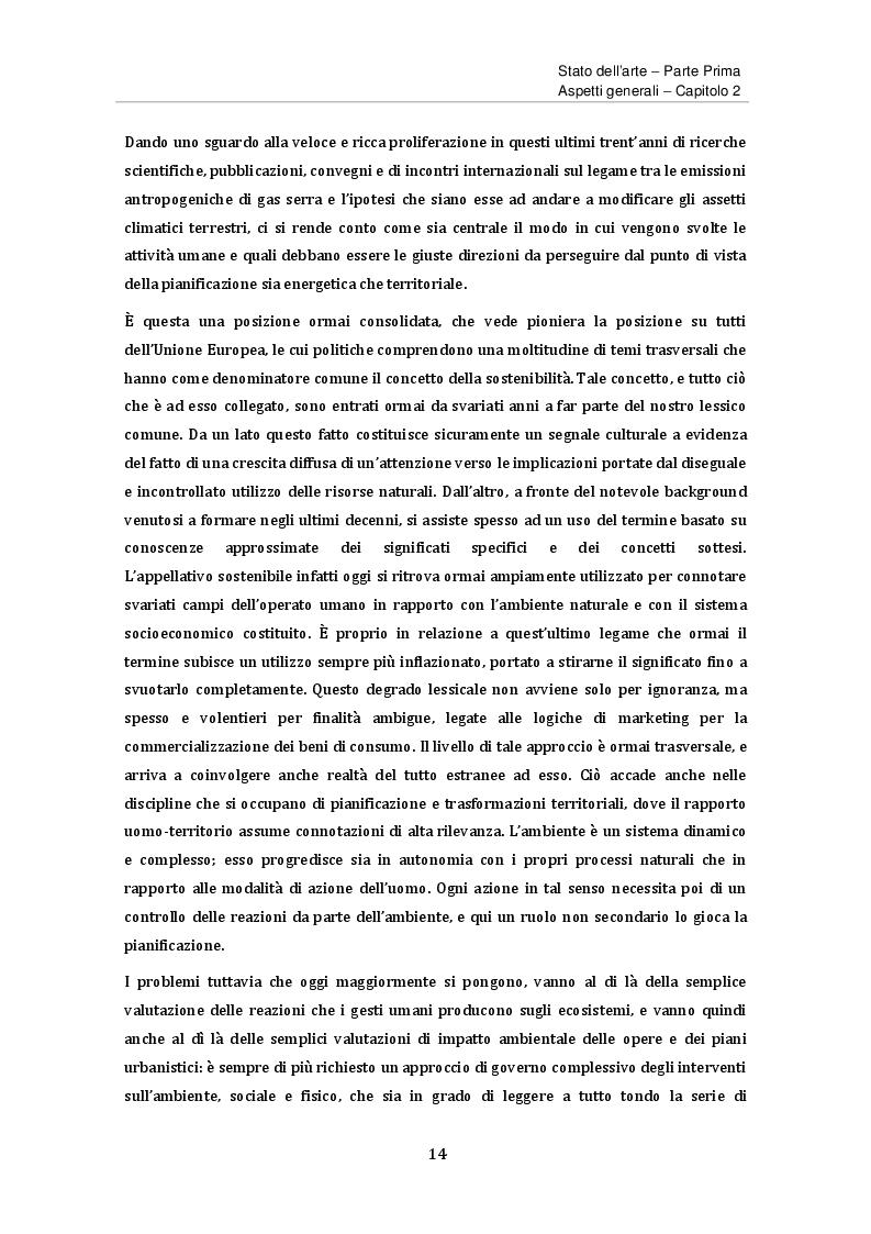 Estratto dalla tesi: Primi approcci all'analisi delle emissioni di gas serra. Il caso di studio di Brescia