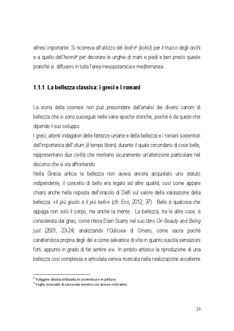 Anteprima della tesi: La cosmesi e le sue politiche distributive. L'influenza nel rapporto con il distributore. Il caso Cosmitalia., Pagina 8