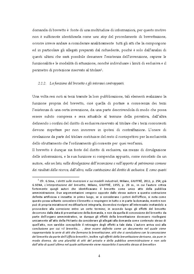 Estratto dalla tesi: La limitazione del brevetto