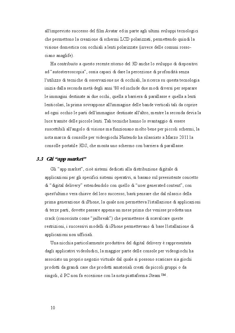 Estratto dalla tesi: Gaming su Android: Analisi del modello di marketing e realizzazione di un prodotto videoludico autostereoscopico