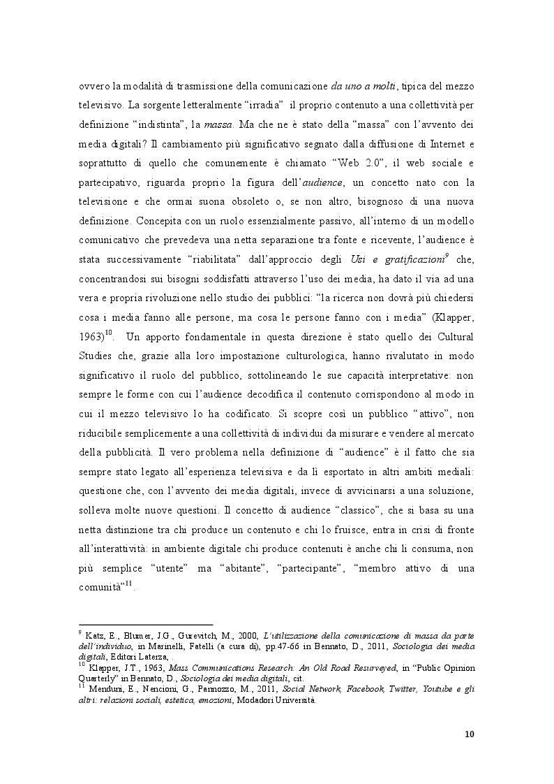 Estratto dalla tesi: L'odio ai tempi della Rete. Il caso Kyenge tra hate speech e razzismo diretto