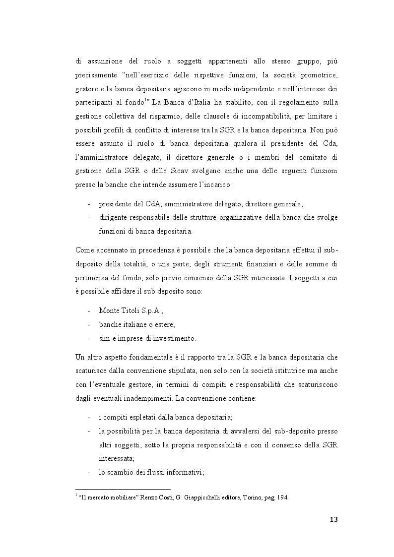 Estratto dalla tesi: I fondi immobiliari in Italia. Analisi dei fondi ''Beta'', ''Primo'' e ''Socrate''