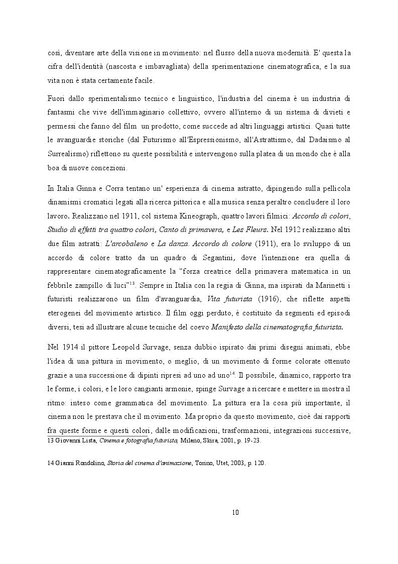 Estratto dalla tesi: L'Europa degli ''ismi'': tra dinamismo futurista ed extra artisticità dadaista