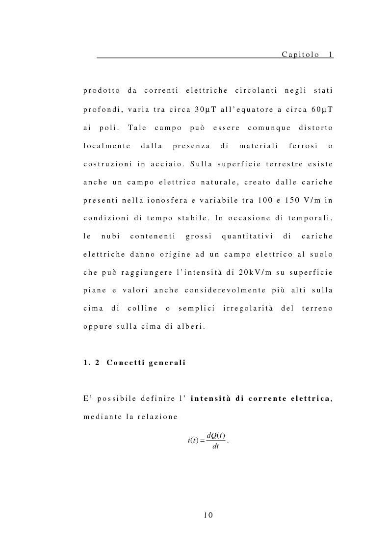 Anteprima della tesi: Modelli per lo studio degli effetti sul corpo umano di campi elettrici e magnetici, Pagina 11