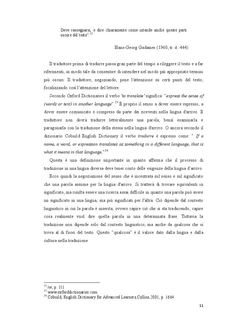 Estratto dalla tesi: Alla ricerca del titolo perduto: l'adattamento del titolo cinematografico in italiano