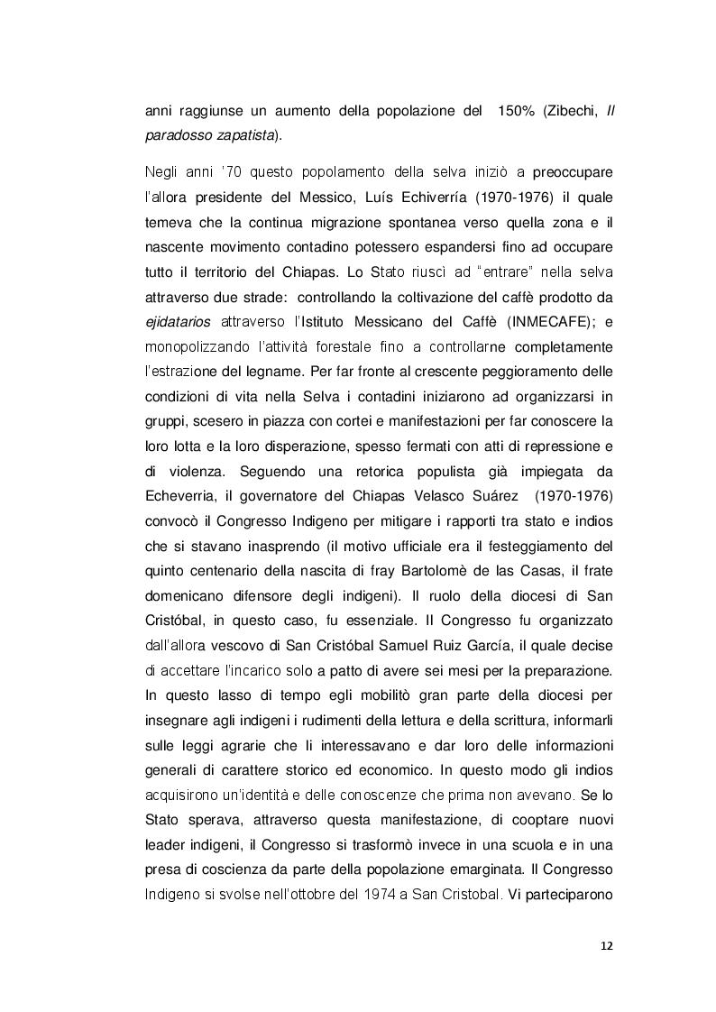 Estratto dalla tesi: ''Comandare ubbidendo'': la lotta del popolo di mais. Donne zapatiste in resistenza.