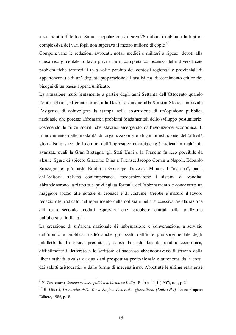 Estratto dalla tesi: Dalla stampa al web: passato, presente e futuro della critica, del giornalismo e dell'informazione culturale tra innovazione e rivoluzione