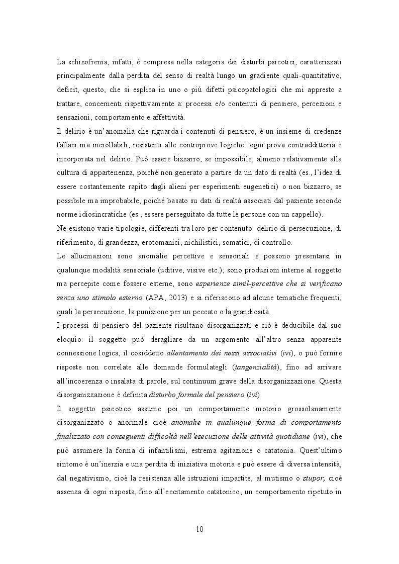 Estratto dalla tesi: Dalla schizofrenia allo schizofrenico. Interesse, Prossimità, Incontro.