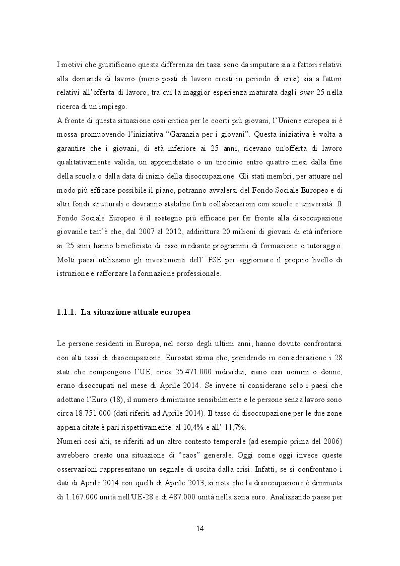 Estratto dalla tesi: Le determinanti del salario di riserva dei giovani in Italia