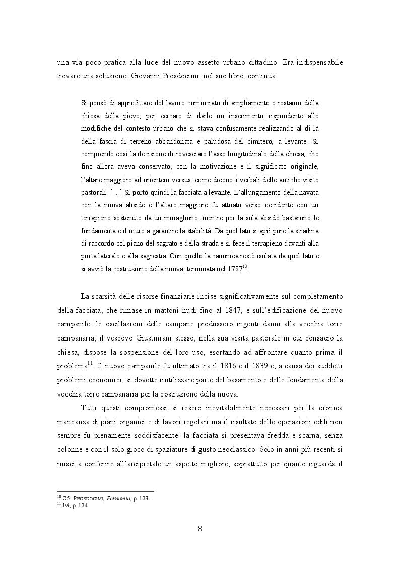 Estratto dalla tesi: L'organo Cipriani Op. XV (1831) della chiesa di S. Giustina a Pernumia (PD)