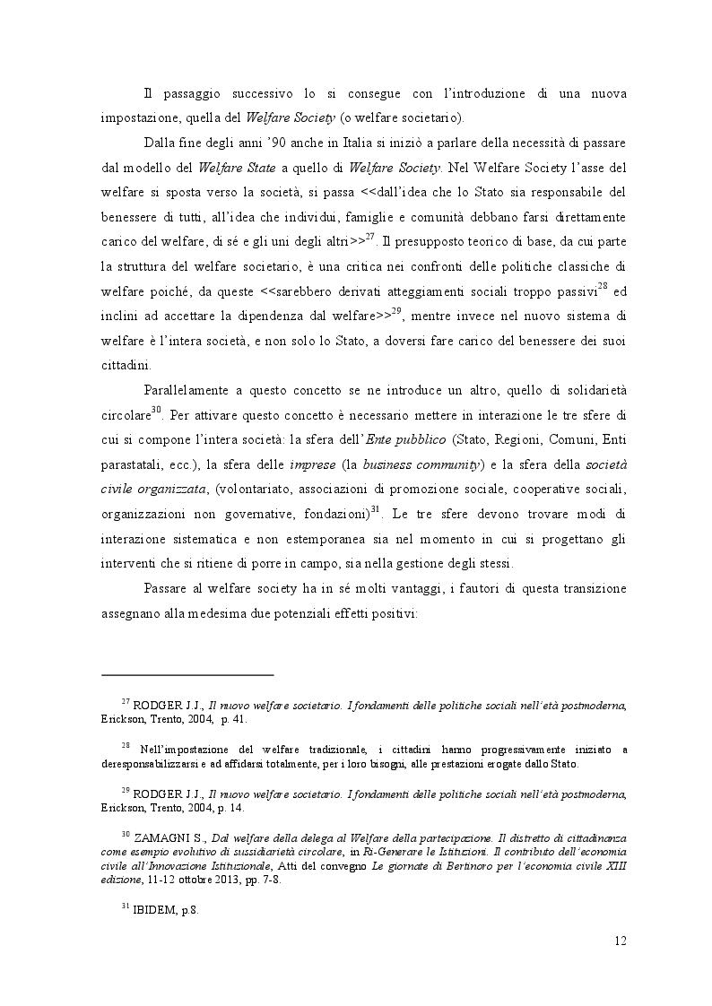 Estratto dalla tesi: Nuove politiche di Welfare e riforma dei Servizi Sociali. La Legge n. 328/2000 e l'esperienza di una realtà locale: il Comune di Acate